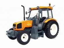 Atlas 1:43 Renault Ergos 100 H Tractor oranje / grijs