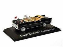 Atlas 1:43 Simca Chambord V-8 AB-P President Kennedy zwart