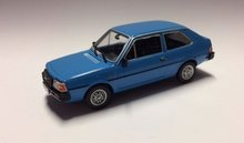 Atlas 1:43 Volvo 343 Polish Cars blauw