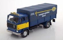 Atlas 1:43 Volvo F88 Transport ASG blauw geel