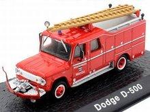 Atlas 1:72 Dodge D-500 Brandweer Watou Belgie