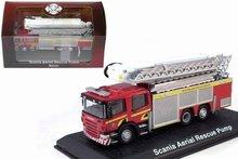 Atlas 1:72 Scania Aerial Ladder Rescue Pump Fire Truck