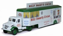 Atlas 1:76 Bedford OX Truck Booking Trailer Billy Smart's Ci
