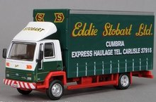 Atlas 1:76 Ford Cargo Curtainside Lorry Stobart
