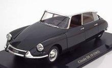 Auto Vintage De Luxe Collectie 1:24 Citroen DS 19 zwart wit