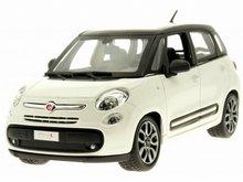 Bburago 1:24 Fiat 500L wit