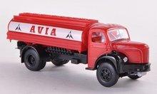 Brekina Berliet GLR 8 Tank, Avia rood