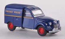 Brekina Citroen 2 CV Frans Maas (NL) bestelauto blauw