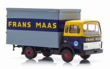 Brekina Daf F 900 gesloten Laadbak Frans Maas