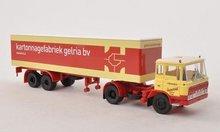 Brekina Daf FT 2600 box wagon-SZ van Reenen Gelria NL