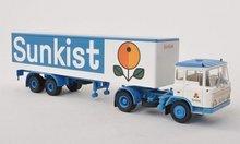 Brekina Daf FT 2600 koffer-SZ Sunkist