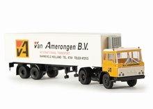 Brekina Daf FT 2600 Van Amerongen BV Trailer Truck NL