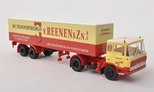 Brekina Daf FT 2600 van Reenen NL Trailer Truck