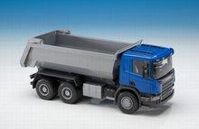 Emek 1:25 Scania P met Kiepbak blauw