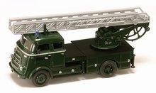 Yatming 1:43 Daf A1600 brandweer ladderwagen Leger NL