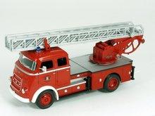 Yatming 1:43 Daf A1600 brandweer ladderwegen Zaanstad