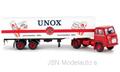Brekina 1:87 Scania LB 76 Koffer - SZ UNOX Nederland