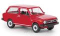 Brekina 1:87 Volvo 66 Kombi rood 1975